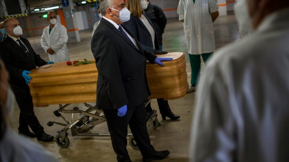 Barcelona closes temporary morgue in parking garage as coronavirus deaths drop
