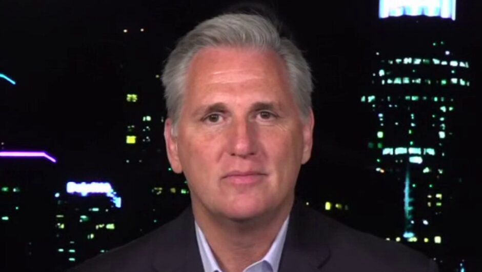 Rep. McCarthy: Dems want to inflict 'more pain' under COVID-19 just because 'they despise' Trump