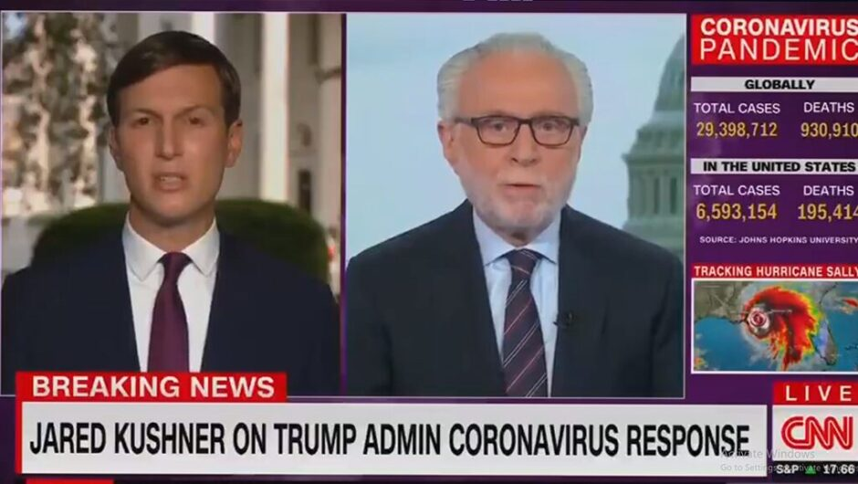Jared Kushner fires back at Wolf Blitzer for sounding COVID-19 alarm: CNN wasn't 'that worried' about BLM protests