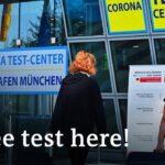 Germany begins mandatory coronavirus tests for travelers   DW News