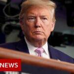 Trump warns of 'toughest week' of pandemic yet – BBC News