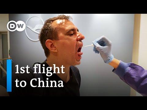 New coronavirus case on first Germany-China return flight   DW News