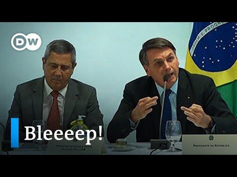 Brazil court releases explosive Bolsonaro video as coronavirus cases soar | DW News