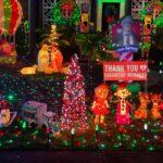 Christmas light displays bring joy and socially distanced Santa villages amid COVID-19