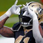 Kamara on COVID-19 list, could miss Saints' playoff opener
