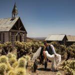 Desert 'ghost town' sees wedding boom during coronavirus pandemic