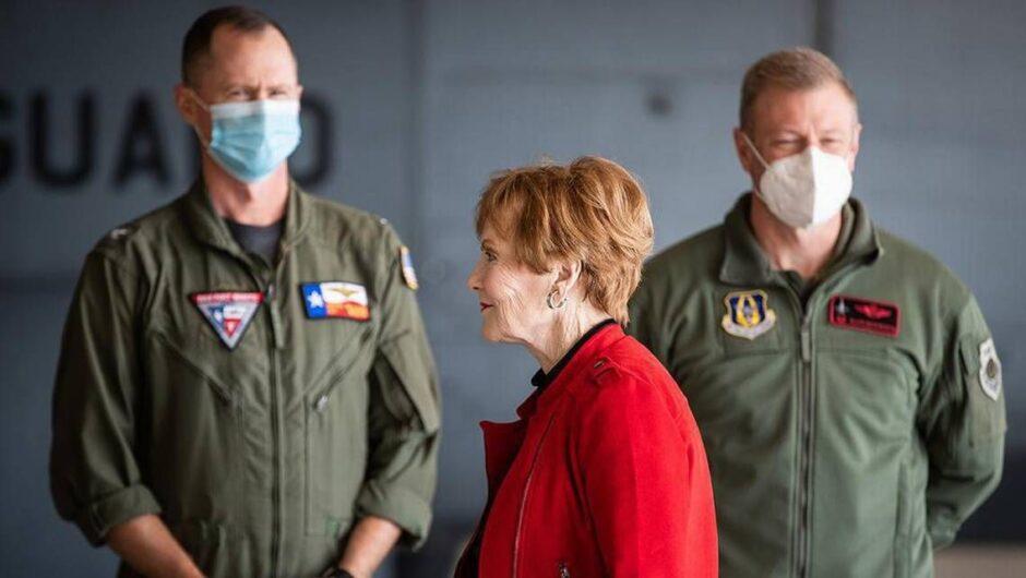 Where's your mask, Kay Granger? You and Joe Biden should be coronavirus role models