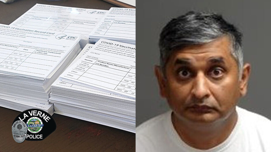 Worker charged with stealing hundreds of blank COVID-19 vaccine cards in California