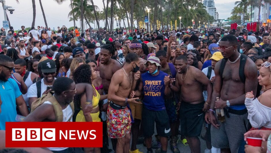Emergency curfew in Miami Beach over spring break Covid risk – BBC News